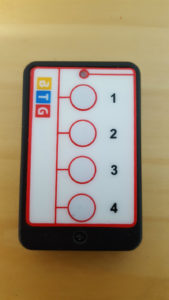4 Button Push Button Red