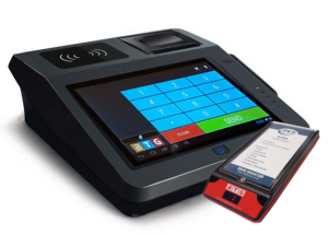 Desktop Tablet with Patient  Pager