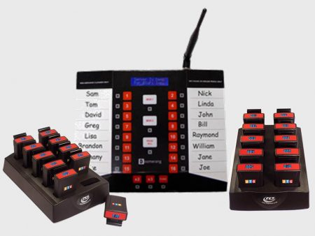 BTG SC16 Waiter Paging System 20 Pagers 2