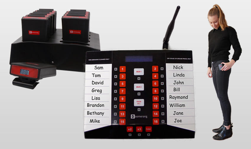 Server Call Paging System