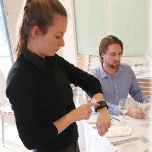 Waiter-with-Smart-Watch