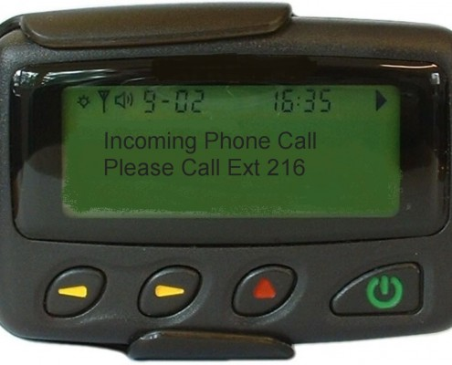 alphanumeric-pager-message