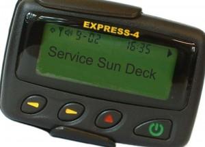 alphanumeric pager sun deck