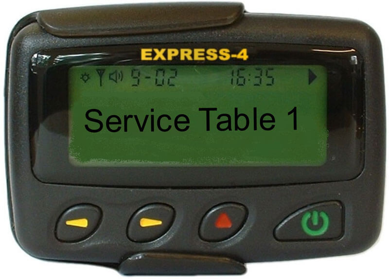 alphanumeric pager